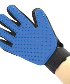 масажираща ръкавица за премахване на опадала козина