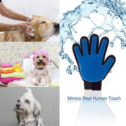 ръкавица за премахване на опадала козина true touch