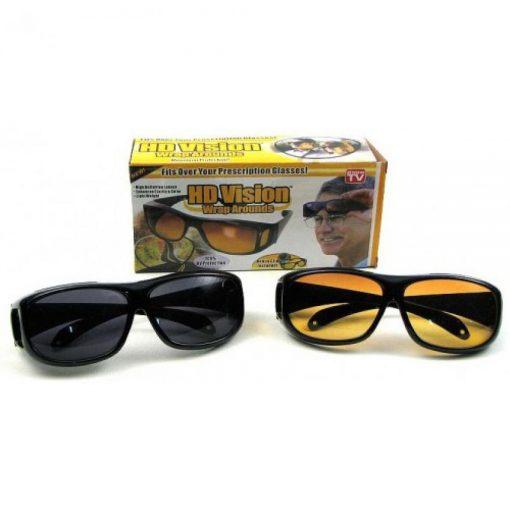 очила за дневно и нощно шофиране hd vision