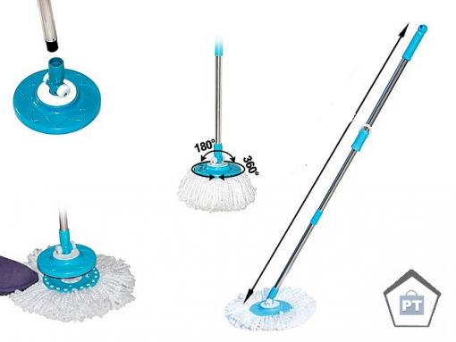 дръжка за spin mop